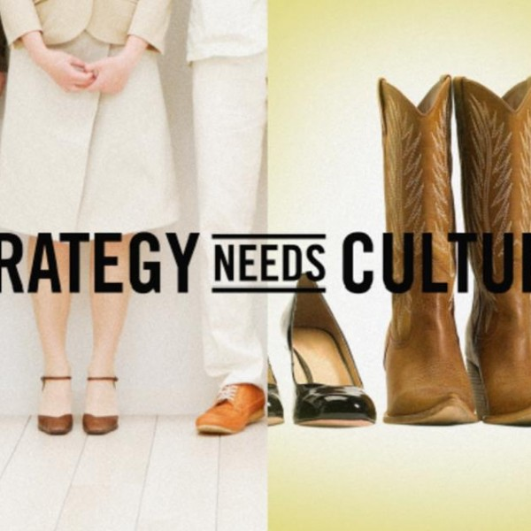 Different cultures are illustrated by shoes from fancy heels to scruffy cowboy boots