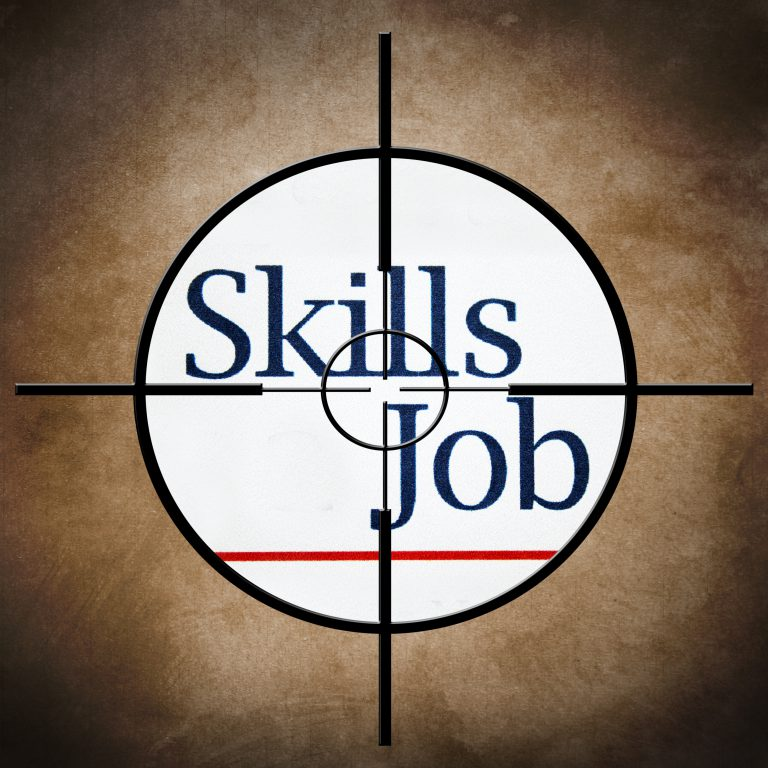 A target is focussed on Skills and Job but employee engagement training shows you need more