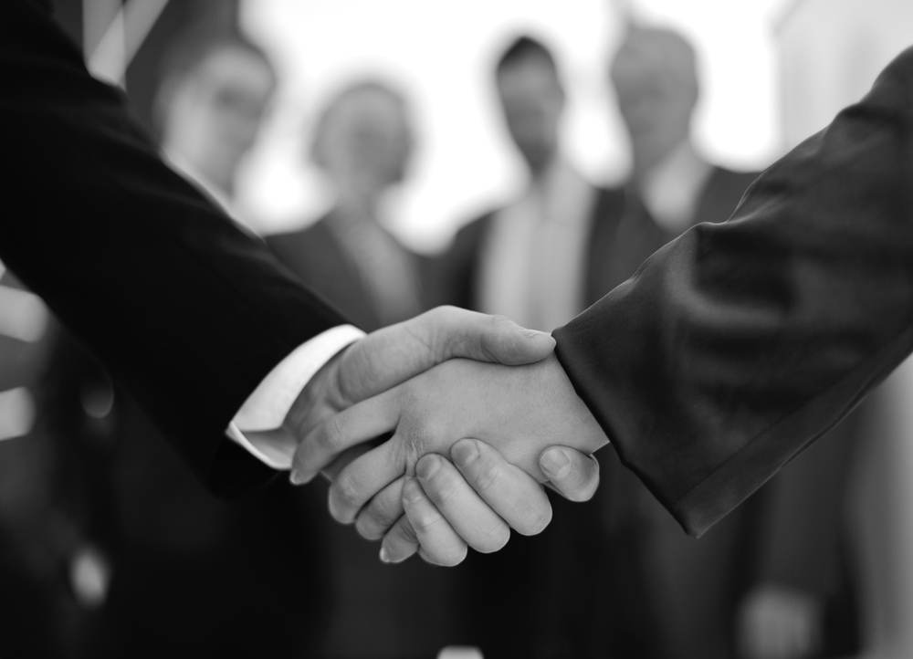become a trusted advisor handshake