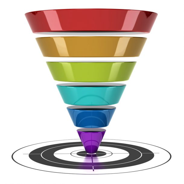 picture of sales funnel Convert More Sales Prospects