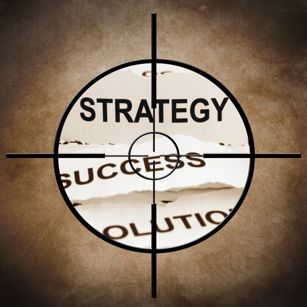 strategy planning is at the center of the target