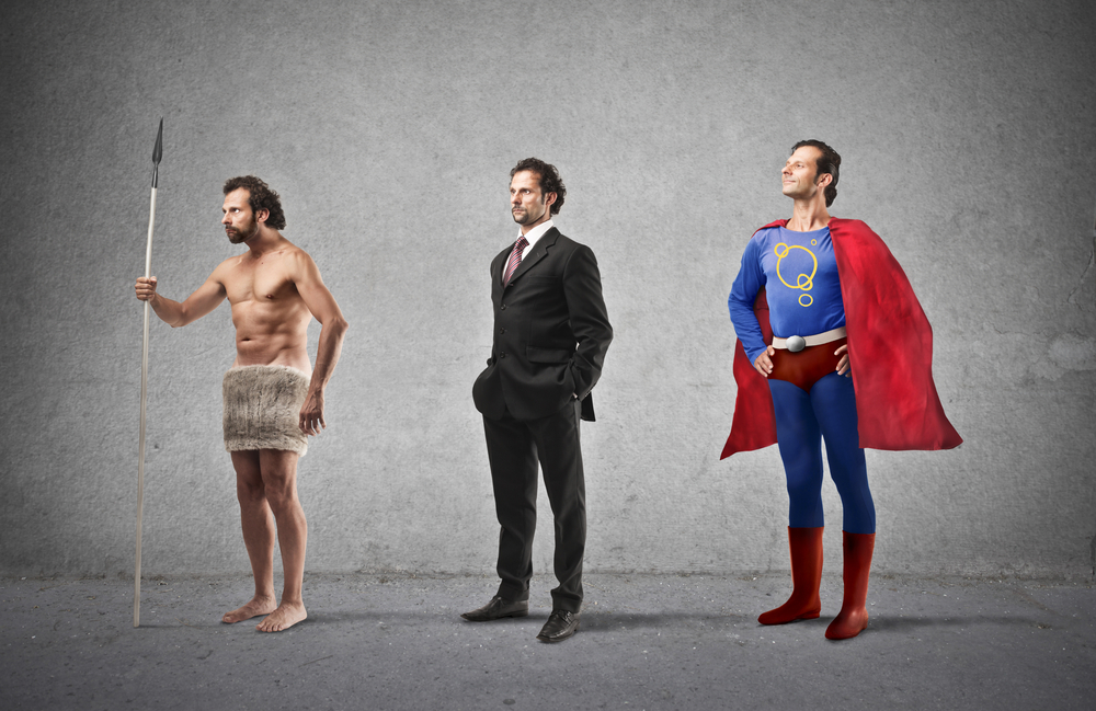 From a caveman to a business man to superman, it's time to Build a Strong Culture of Employees