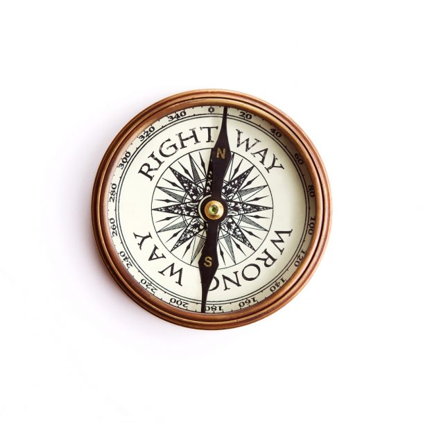 a right way/wrong compass addresses the question: Strategy vs. Culture - Which Comes First?