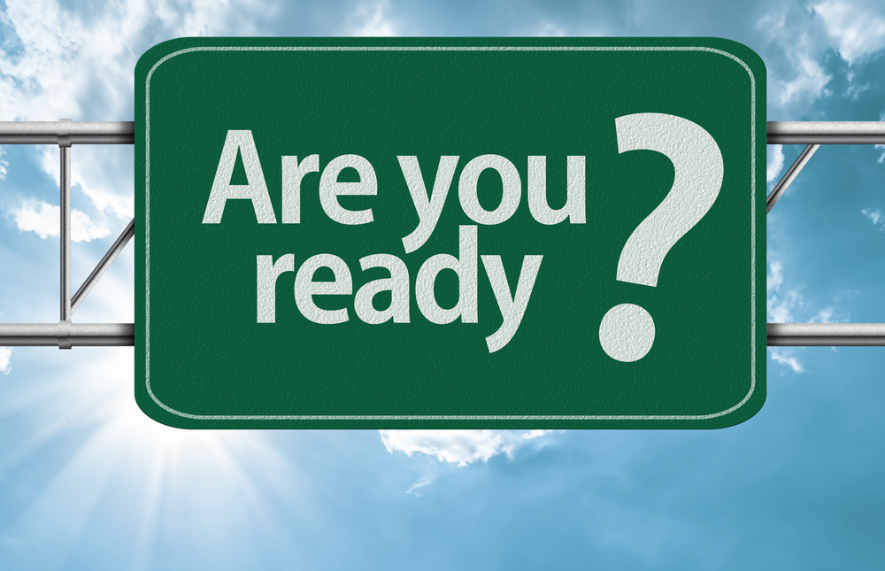 a traffic sign asking if you are ready to Improve Corporate Learning