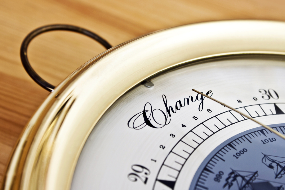 A compass pointing to change to show how to Succeed at Corporate Change