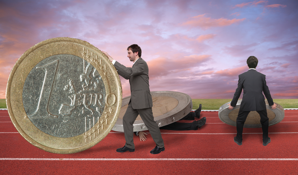 man rolling coin to show how to Sell Value versus Price