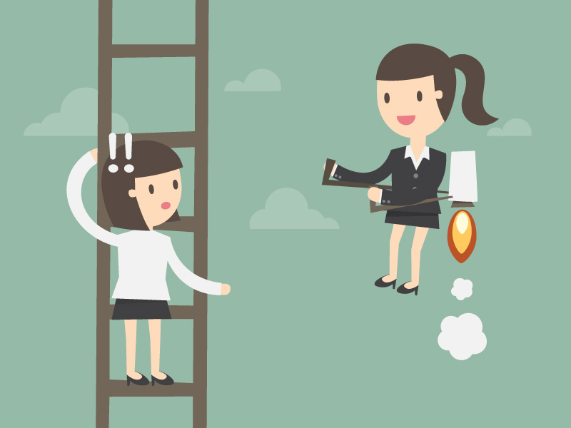 3 Smart Ways for New Managers to Climb the Corporate Ladder
