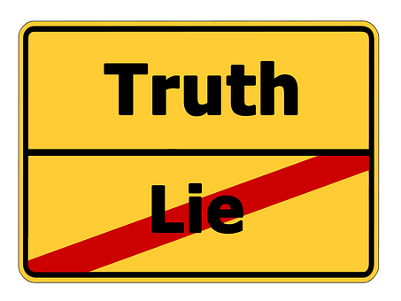 A sign about truth as the Sales Negotiation Strategy?
